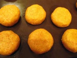 морковное печенье - сформированное