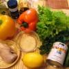 салат с кунжутом - продукты