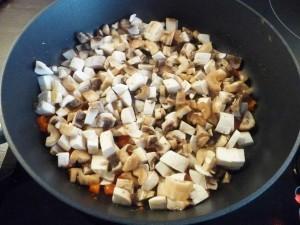 грибной крем суп - грибы