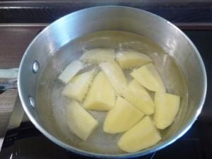 грибной крем суп - картофель