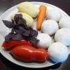 грибной крем суп - продукты