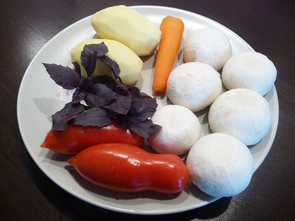 блендер рецепт грибной крем суп