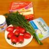 рецепты вкусного завтрака - продукты на тортик