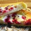 вкусные сырники - в разломе