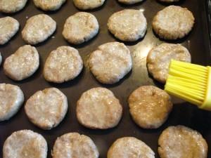 Печенье без масла - смазывание