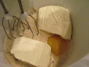 Печенье без масла - смесь компонентов