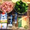 брокколи с курицей - продукты