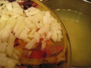 рецепты с брюссельской капустой - лук