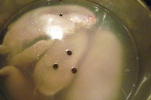 Свекольный суп - бульон