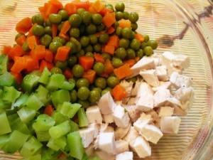 салат из брокколи - копоненты