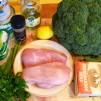 салат из брокколи - продукты