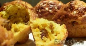 тыквенные кексы - выпечка из тыквы