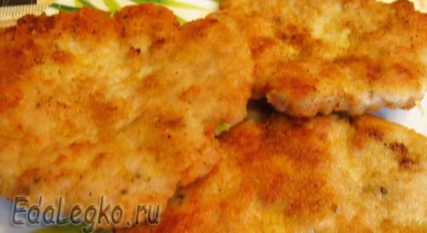 блюда из куриного фарша - вкусные отбивные