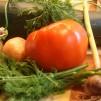кабачки с помидорами и морковью - продукты
