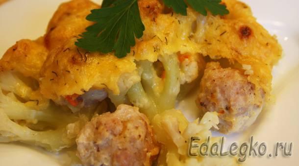 куриные фрикадельки - фрикадельки в духовке