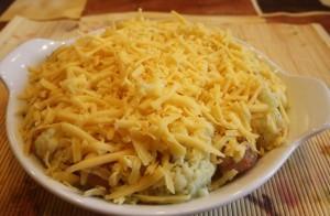куриные фрикадельки - сыр