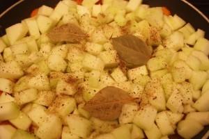 рецепт закуски из кабачков - слой кабачков