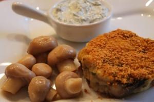 картофельные котлеты из пюре - готово