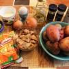 картофельные котлеты из пюре - продукты