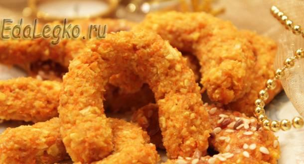 блюда на год лошади - диетическое овсяное печенье