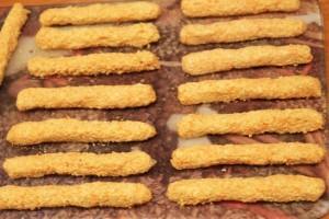 диетическое овсяное печенье - колбаски