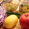 салат из краснокочанной капусты - продукты