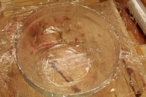 итальянский десерт - форма с пленкой
