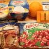 итальянский десерт - продукты для крема