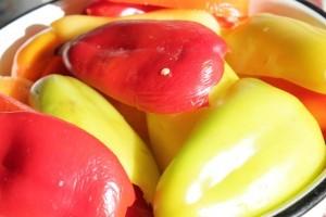 анкл-бенс из кабачков - перец