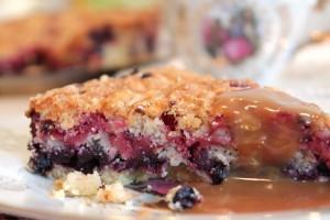 насыпной пирог - порция