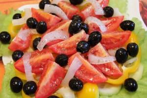 Как приготовить греческий салат - заправка