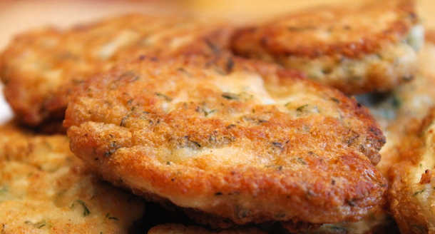 рецепт куриных оладий