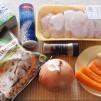 запеканка с куриным филе - продукты