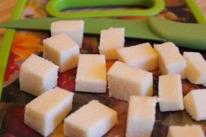 гречневые котлеты - сыр