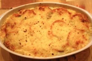 кабачки запеченные с помидорами и сыром - готово