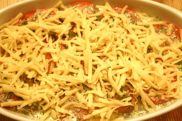рецепты из кабачков в духовке с помидорами и сыром