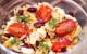 постный салат с фасолью и орзо