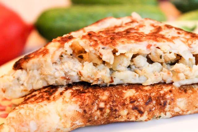 Чебуреки из кабачков - с мясной начинкой