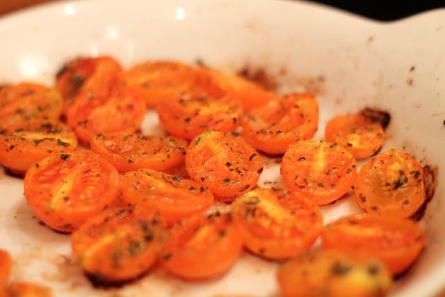 паста с вялеными помидорами - помидоры завялены