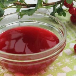 Желе из ягод смородины