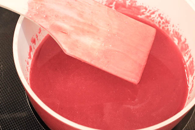 Желе из ягод смородины - сироп