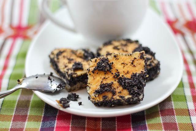 печенье с маком - кусочек крупно