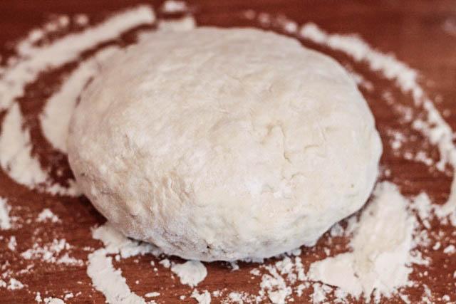 печенье с маком - тесто