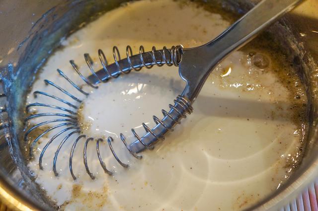 Пирог с голубикой - соус приготовление