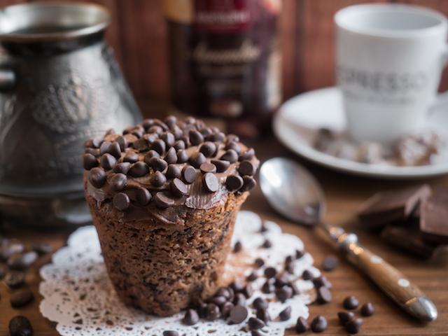 кофейный кекс - готово