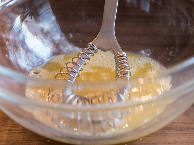 кофейный кекс - яйца