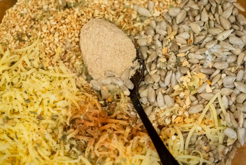 хлебцы из семечек - смесь