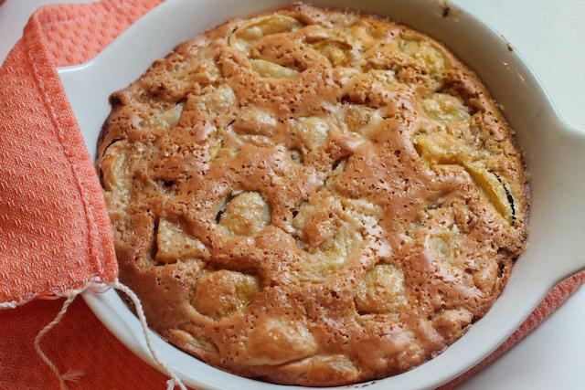 пирог с нектаринами - готово 1