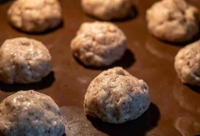 миндальные булочки - тесто