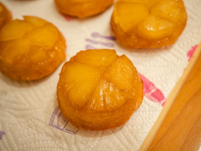 маффины с ананасом - перевернули
